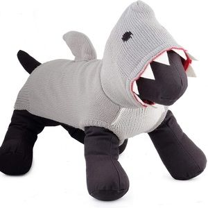 The Worthy Dog Pullover Jimmy the Shark Sweater
